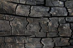 Abstracte brandwond houten achtergrond Royalty-vrije Stock Afbeelding