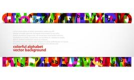 Abstracte brieven Stock Illustratie