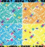 Abstracte brievenachtergrond Royalty-vrije Stock Foto's