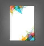 Abstracte brochure Stock Afbeelding