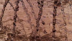 Abstracte bruin Stock Foto