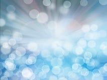 Abstracte bruin en blauwe achtergrond Royalty-vrije Stock Foto's