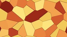 Abstracte bruine geanimeerde achtergrond vector illustratie