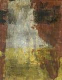 Abstracte Bruine Grijs en Geel Royalty-vrije Stock Foto's