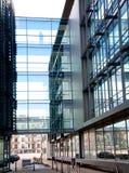 Abstracte bureaugebouwen Stock Afbeelding