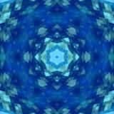 Abstracte caleidoscoopachtergrond Royalty-vrije Stock Afbeeldingen