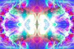 Abstracte caleidoscooppatroon/achtergrond Stock Afbeeldingen
