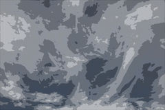 Abstracte camouflageachtergrond Royalty-vrije Stock Afbeelding