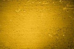 Abstracte canvas geweven gele achtergrond royalty-vrije stock fotografie