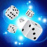 Abstracte casinoachtergrond Royalty-vrije Stock Foto's