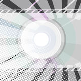 Abstracte CD Achtergrond Stock Afbeeldingen