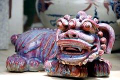 Abstracte Ceramische, Chinese Stijl. Royalty-vrije Stock Foto's