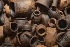 Abstracte ceramische waren als achtergrond Stock Afbeeldingen