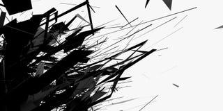 Abstracte CGI 1 Vector Illustratie