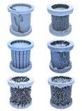 Abstracte cilinder Royalty-vrije Stock Foto