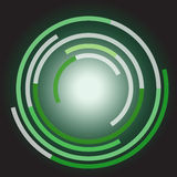 Abstracte cirkel stock foto