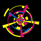 Abstracte cirkel Royalty-vrije Stock Afbeeldingen