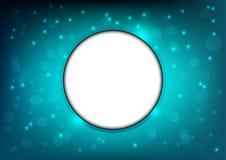Abstracte cirkel bokeh achtergrond Royalty-vrije Stock Fotografie