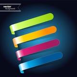 Abstracte cirkel kleurrijke achtergrond. Vector. Stock Afbeelding