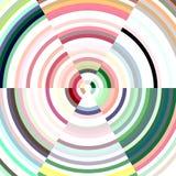 Abstracte cirkel in pastelkleur zachte tinten, achtergrond Stock Foto