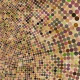 Abstracte cirkelachtergrond Stock Foto