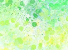 Abstracte Cirkelachtergrond vector illustratie