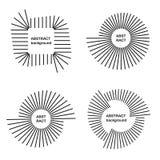 Abstracte cirkelachtergronden Stock Afbeeldingen