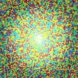 Abstracte cirkelpunten Royalty-vrije Stock Foto