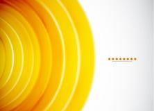 Abstracte cirkels. Vector abstracte achtergrond Royalty-vrije Stock Foto