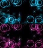 Abstracte cirkelsachtergrond Royalty-vrije Stock Afbeelding