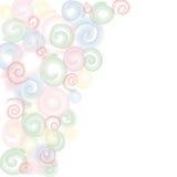 Abstracte cirkelsachtergrond Stock Afbeelding