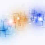 Abstracte Communicatietechnologieachtergrond Stock Foto