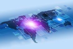 Abstracte Concepten Communicatie Achtergrond Stock Foto