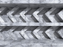 Abstracte concrete de bouwachtergrond van de muurarchitectuur Royalty-vrije Stock Foto