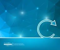 Abstracte Creatieve concepten vectorachtergrond Voor Web en mobiele toepassingen, het ontwerp van het illustratiemalplaatje, zake Stock Foto's