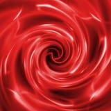 Abstracte creatieve rode achtergrond in stijl van gemengde media stock illustratie