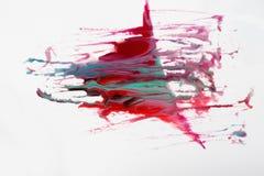 Abstracte, creatieve ruimtekunst op witte achtergrond Royalty-vrije Stock Afbeelding