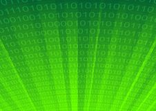 Abstracte cyberspace als achtergrond Stock Fotografie