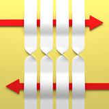 Abstracte 3D Achtergrond. Stock Fotografie