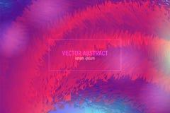 Abstracte 3d achtergrond Moderne Kleurrijke Vloeistof Abstracte Golfdekking met Trillende Gradiënt Abstracte achtergrond met royalty-vrije illustratie