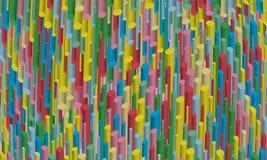 Abstracte 3d achtergrond Multi-colored bont gestreepte achtergrond Stock Illustratie