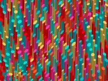 Abstracte 3d achtergrond Multi-colored bont gestreepte achtergrond Royalty-vrije Illustratie