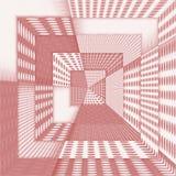 Abstracte 3D achtergrond in rood spectrum Stock Afbeelding