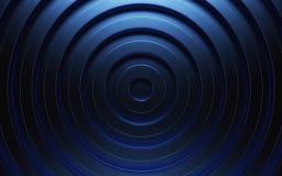 Abstracte 3d blauwe geometrische achtergrond Blauwe textuur met schaduw 3d geef terug Stock Foto's