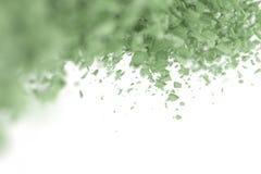 Abstracte 3d deeltjesachtergrond Stock Afbeelding