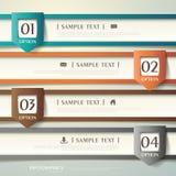Abstracte 3d document infographics Royalty-vrije Stock Afbeelding