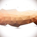 Abstracte 3D geometrische achtergrond vector illustratie