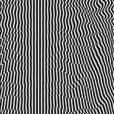 Abstracte 3d geometrische achtergrond Patroon met optische illusie royalty-vrije illustratie