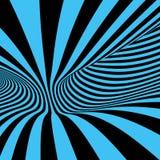 Abstracte 3d geometrische achtergrond Patroon met optische illusie Vector illustratie stock illustratie