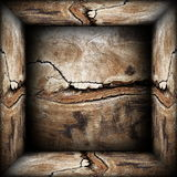 Abstracte 3d houten achtergrond Stock Fotografie